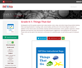 Grade K-1: Things That Go!