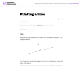 Dilating a Line