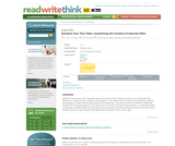 Dynamic Duo Text Talks: Examining the Content of Internet Sites