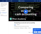 Finance & Economics: Comparing Accrual and Cash Accounting