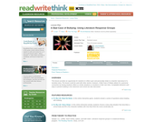 A Bad Case of Bullying: Using Literature Response Groups