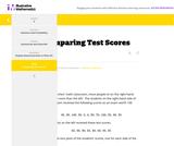 6.SP Comparing Test Scores