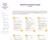 WAVE Foundation Cards