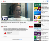 Multimedia Resources for Online & Blended Courses With Judy Tucker, NWOET
