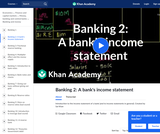 Banking, Money, Finance: Introduction to the Bank Income Statement