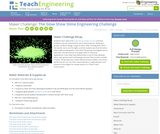 The Glow Show Slime Engineering Challenge