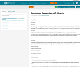 Becoming a Researcher with ISearch