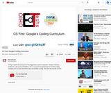 CS First: Google's Coding Curriculum