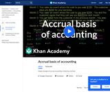 Finance & Economics: Accrual Basis of Accounting