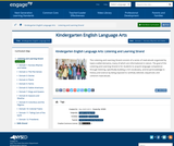 Common Core Curriculum: Kindergarten ELA: Listening and Learning Strand