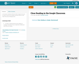 Close Reading in the Google Classroom