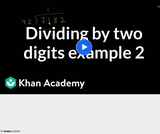 Arithmetic Operations: Division 2