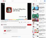 Curating & Editing Videos With YouTube Caryn Kelley, SOITA