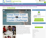Keep Your Cool! Design Your Own Cooler Challenge