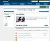 Grade 3 ELA Module 1