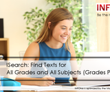 Be the Helper Webinar Series—Support Ohio's Remote Learning with Quality Content from INFOhio: ISearch: Find Texts for All Grades and All Subjects (Grades PreK-12)