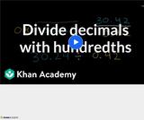 Arithmetic Operations: Dividing Decimals 5