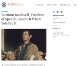 Norman Rockwell, Freedom of Speech—Know It When You See It