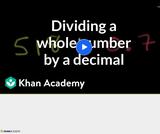 Arithmetic Operations: Dividing Decimals 4