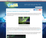 The Aurora: Inspiration for Art and Poetry Integration