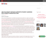 Are You Ready? INFOhio Supports Student Learning with Robust Infrastructure