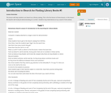 Introduction to ISearch for Finding Library Books #1