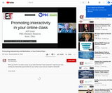 Promoting Interactivity and Motivation in Your Online Class