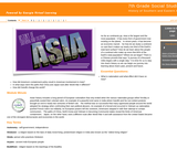 7th Grade Social Studies : History of Southern and Eastern Asia