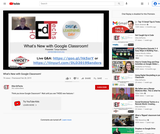What's New With Google Classroom!