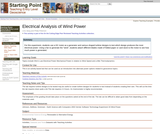 Electrical Analysis of Wind Power