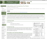 Calculating and Comparing Tax Rates