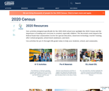 2020 Resources U.S. Census