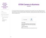 STEM Careers in Business