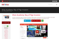 Khan Academy: Bay of Pigs Invasion