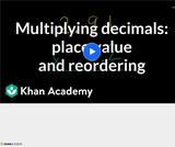 Arithmetic Operations: Multiplying Decimals 4