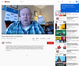 Using Google Drawing in an Online Class