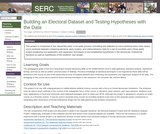 Building an Electoral Dataset and Testing Hypotheses with the Data