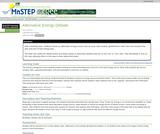Alternative Energy Debate