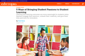 5 Ways of Bringing Student Passions to Student Learning